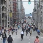 Green parties took the initiative of the extra car-free day